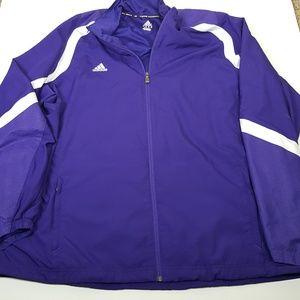 Adidas Womens 2XL Purple Jacket